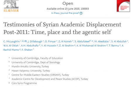 New research contribution to ACDP